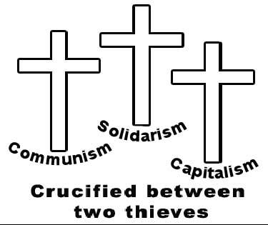Crucified between two thieves